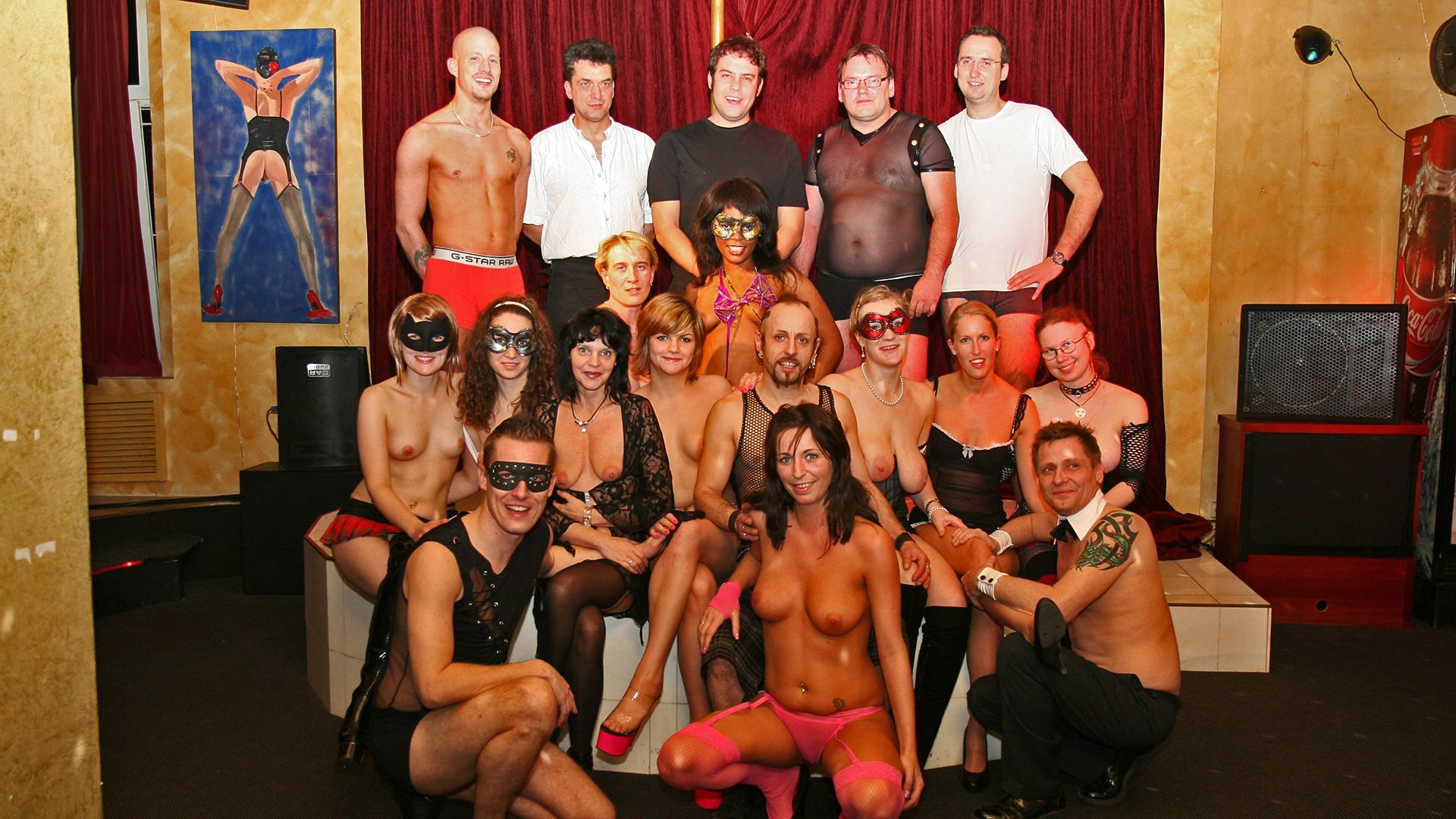 London swingers party, stronger erotic movies